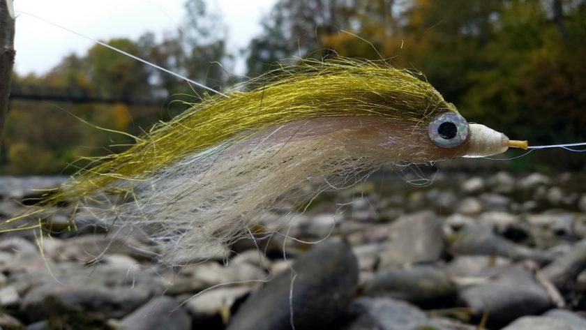 Huchen tube fly 15 cm (5,9 inch), UV